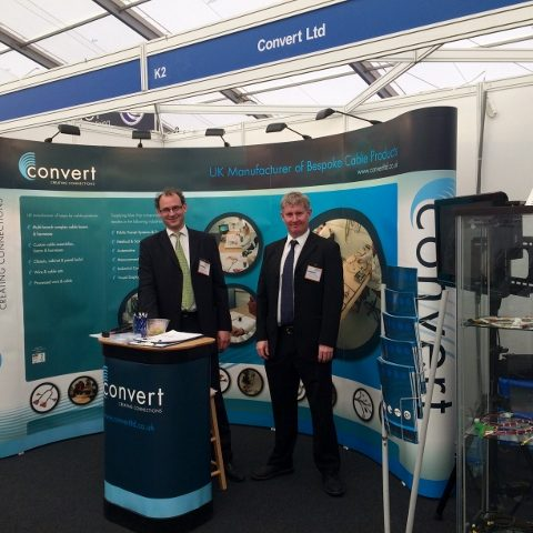 Convert showcases capability at Subcon after increasing turnover by 20%